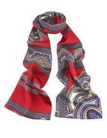 Latest Designs Bohemian Aulic Style Lady Silk Scarf