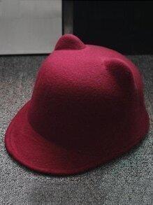 Cat Ears Wool Hat