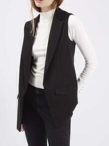 Notch Lapel Slim Vest
