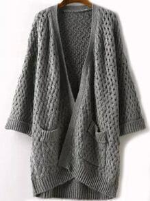Pockets Hollow Grey Coat