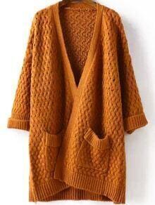 Pockets Hollow Khaki Coat