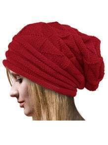 Knit Red Hat