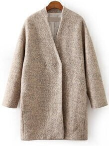 Pockets Classic Long Coat
