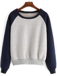 Raglan Sleeve Thicken Sweatshirt