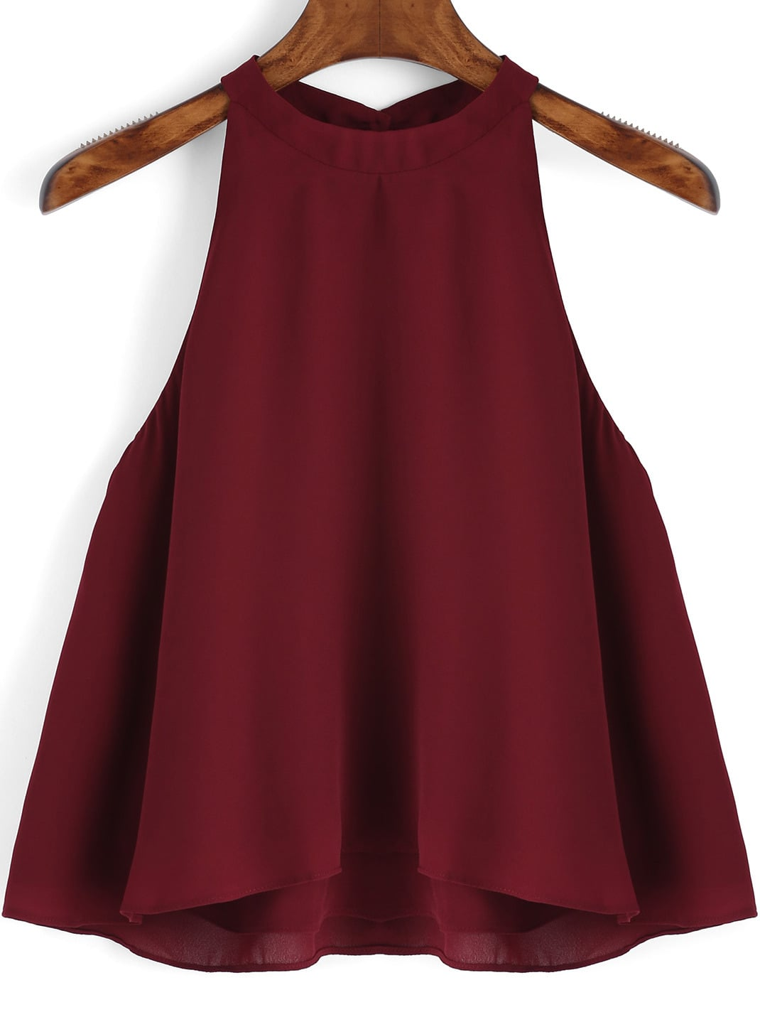 Burgundy Loose Cami Top