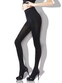 Black Skinny Warm Pantyhose