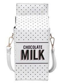 Milk Shaped Magnetic Bag