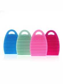 1 brosse nettoyage pour visage en silicone -couleur aléatoire
