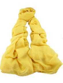 Vintage Yellow Sheer Scarves
