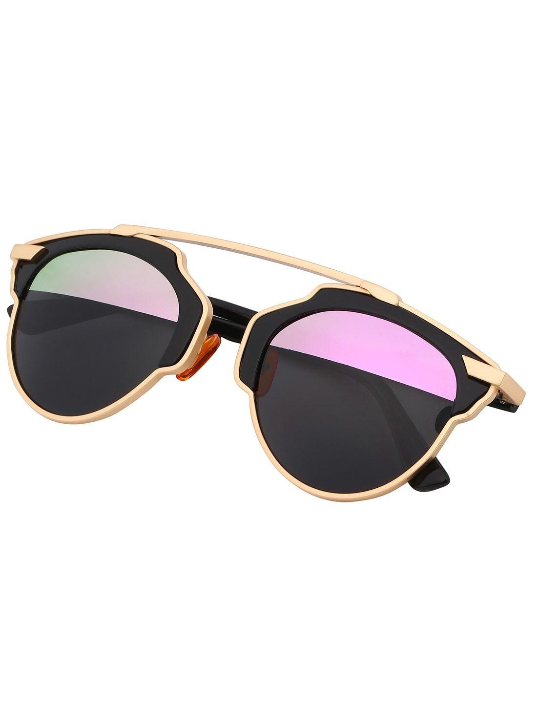 Очки солнечные черные модные