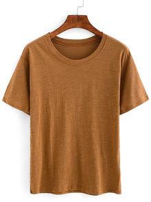 Plain Basic T-shirt