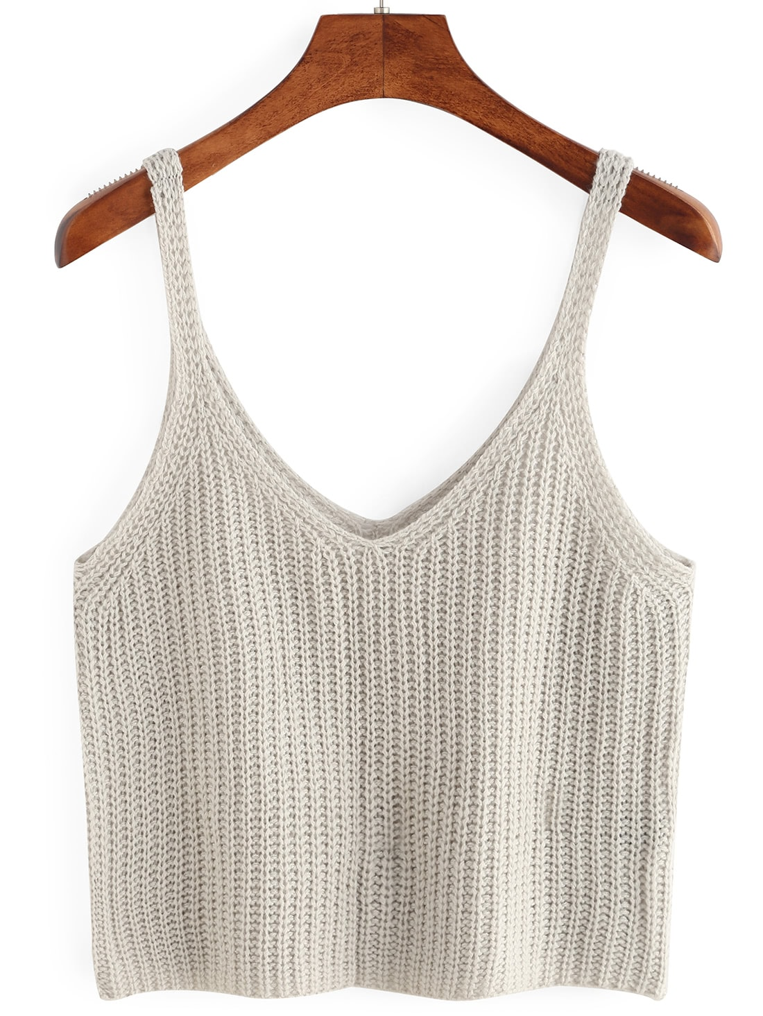 Knitted Crop Tank Top vest160420151