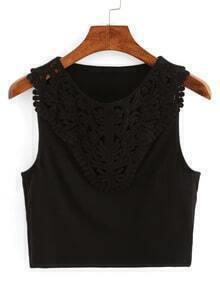 V-Neck Ribbed Knitted Vest