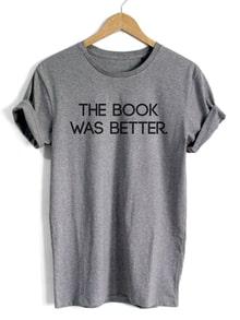 Kurzarm T-Shirt mit Buchstaben Druck lässig in grau