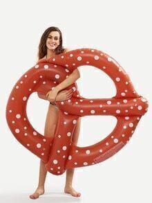 Doughnut Pool Float - Brown