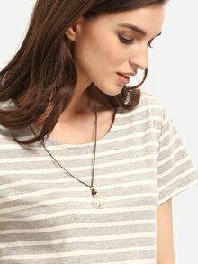 Dandelion Glass Bulb Pendant Necklace