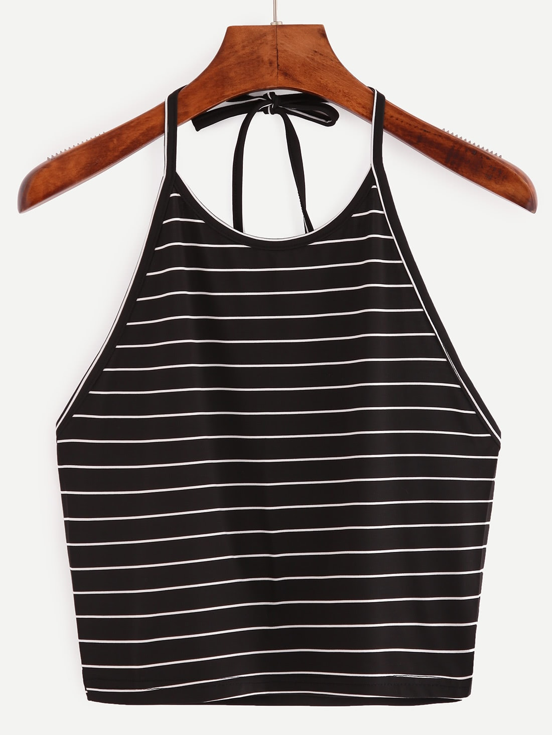 Halter Striped Cami Top vest160527033