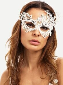 White Party Lace Mask