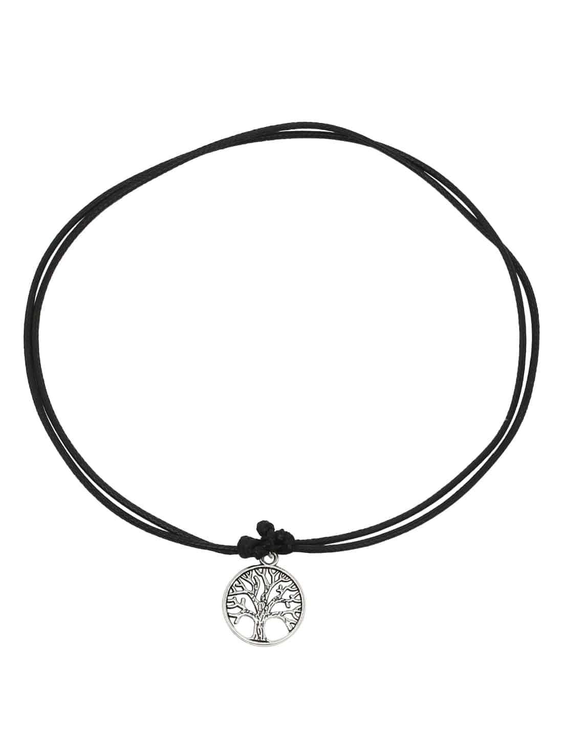 Черное дерево-Shaped ожерелье