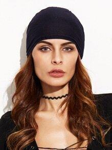 Black Underscarf Tie Back Hijab Cap