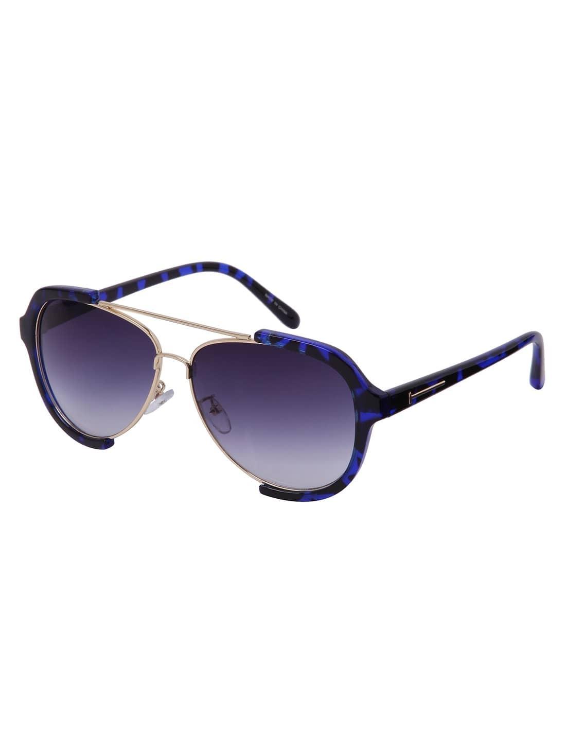 afcbc92098 Double Bridge Aviator Sunglasses