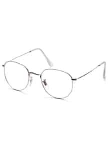 Silver Frame Clear Lens Glasses