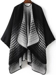 Jersey asimétrico cuello drapeado - negro