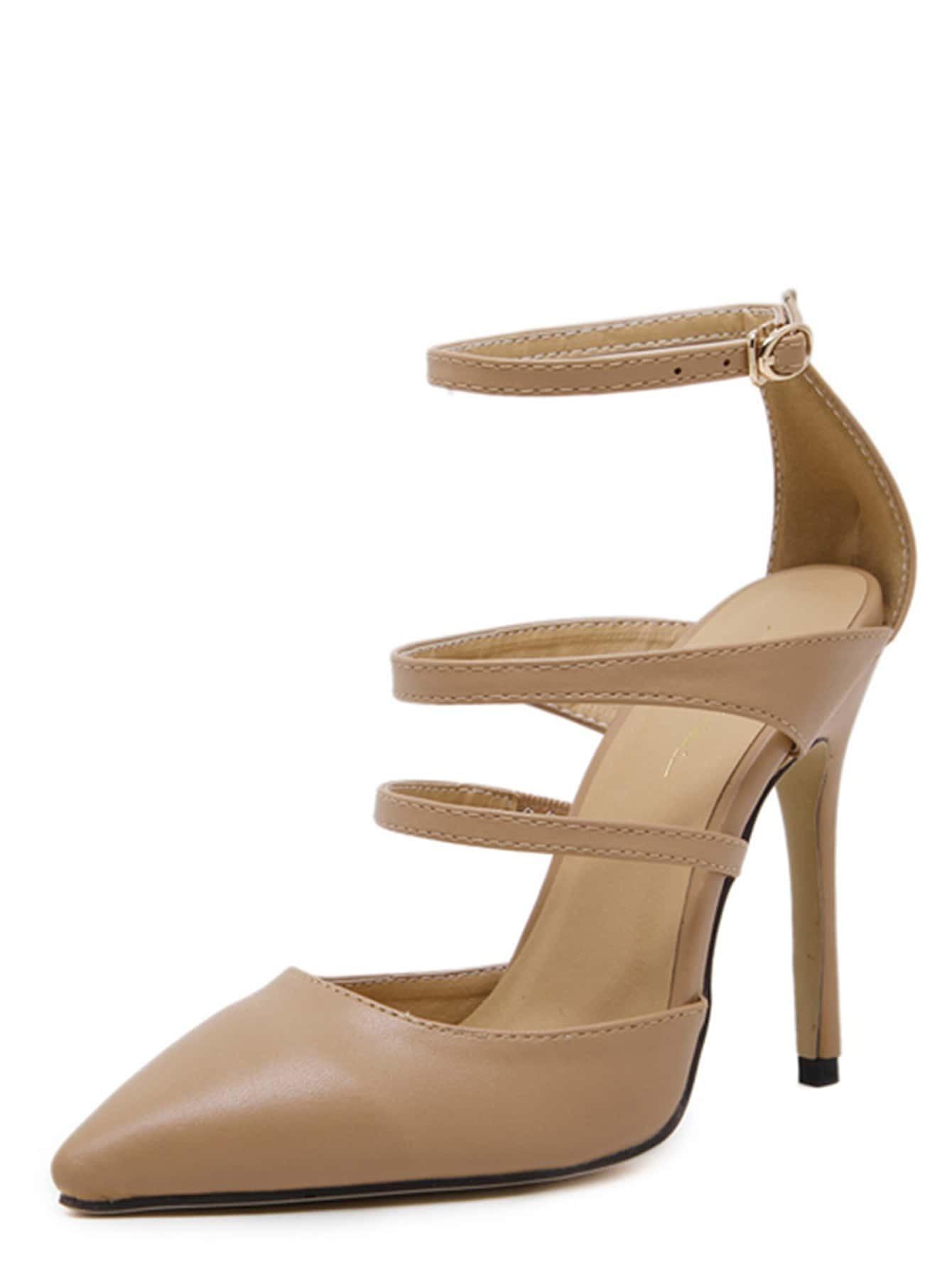 Chaussures talon en su d bout pointu abricot french for Acheter maison suede