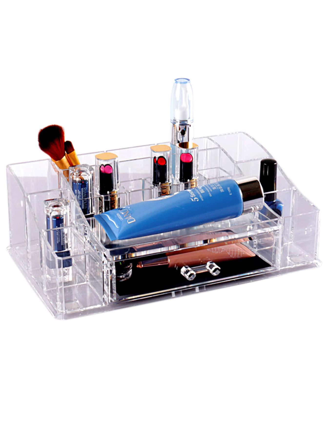 rengement maquillage et beaut acrylique avez tiroir french romwe. Black Bedroom Furniture Sets. Home Design Ideas