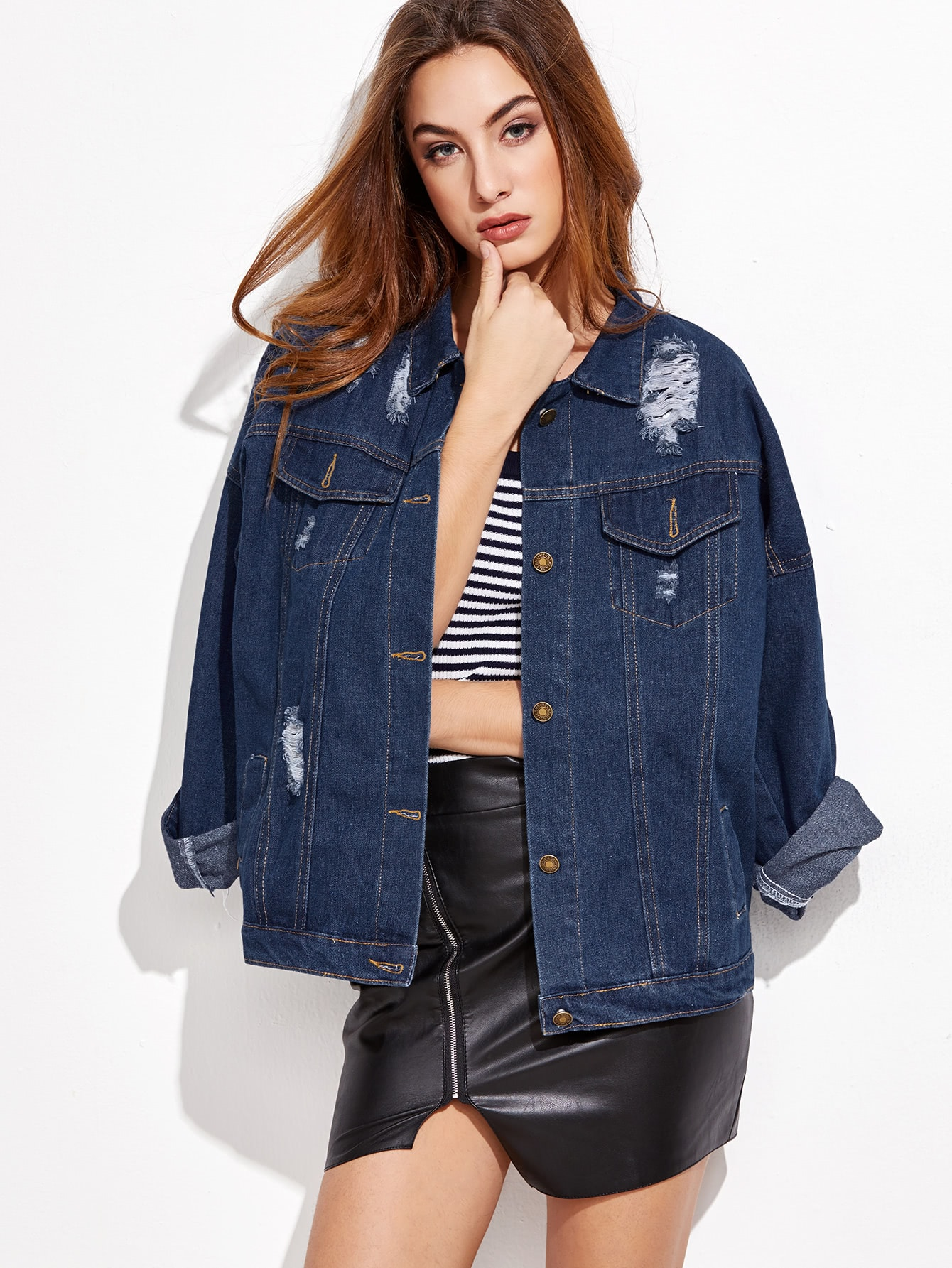 Women's Jackets - Leather, Winter, Denim & Bomber Jackets | Romwe.com