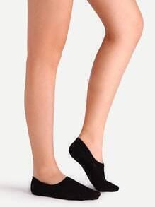 Black No Show Socks For Women