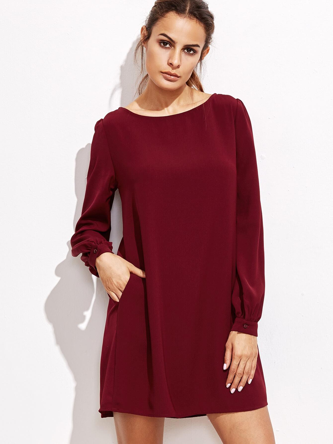 Bishop Swing-Skirt  Dress