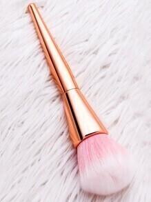 Brosse à maquillage - rose et rose doré