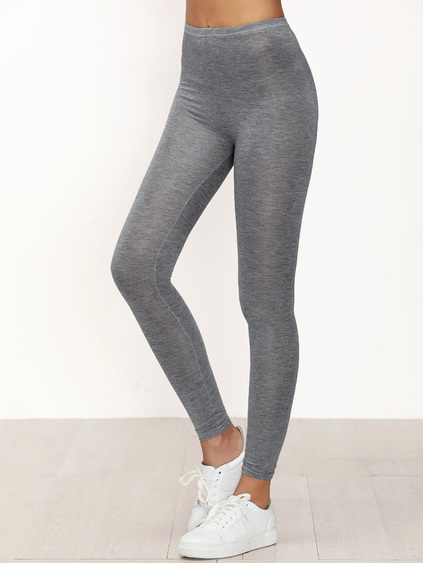 Leggings skinny casual - gris