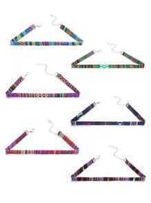 Set de gargantillas con estampado - multicolor