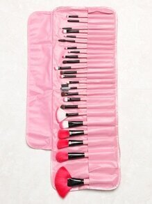 Pink Professional Makeup Brush Set 24pcs