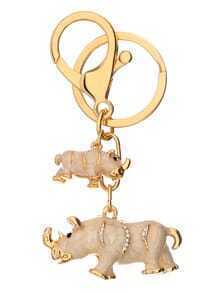 Conception d'animal d'or Keychain
