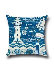 blue phare pour coussin
