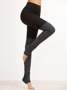 Leggings ajustados con cintura alta