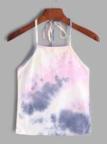Tie Dye Halter Hemdchen