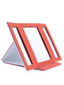 Miroir de maquillage Orange Fold Over Wrap