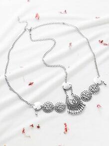 Silver Vintage Head Chain