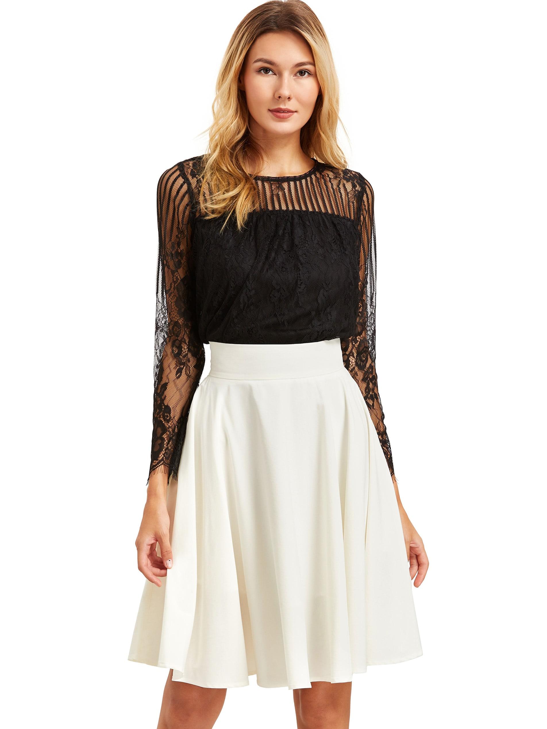 beige high waist pleated midi skirt