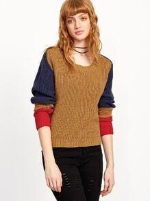 Jersey con color combinado