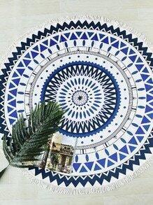 Couverture géométrique de franges