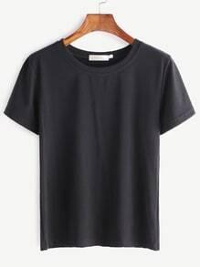 Basic manches courtes - noir
