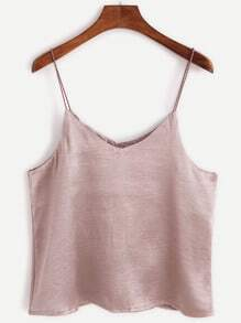 Pink Stain Swing Cami Top