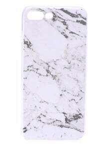 White Marble Pattern iPhone 7plus Case