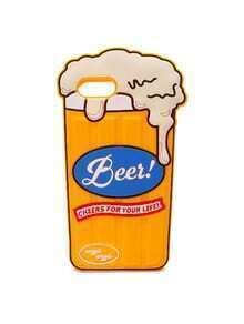 Funda para iphone 6/6S con diseño de taza de la cerveza