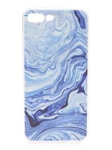 Funda para iphone 6plus con estampado de mar azul